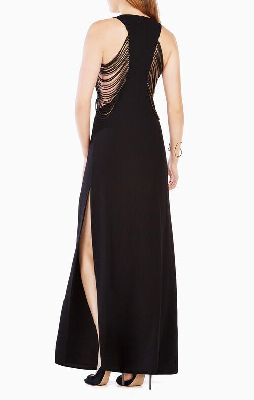 Georgina Fringe Gown