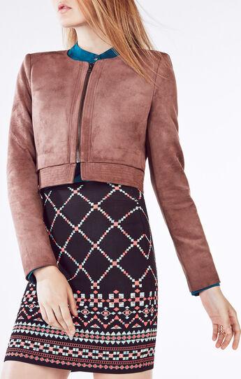 Duke Faux-Suede Jacket