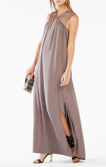 Audrii Multi-Strap Maxi Dress