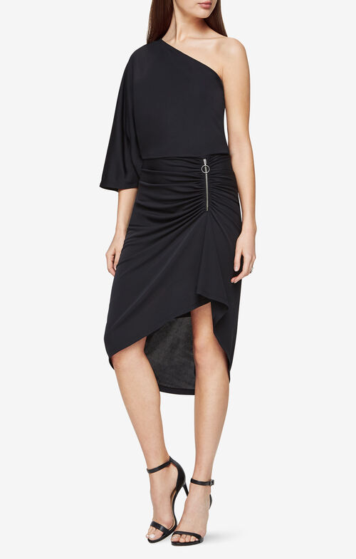 Malena One-Shoulder Dress