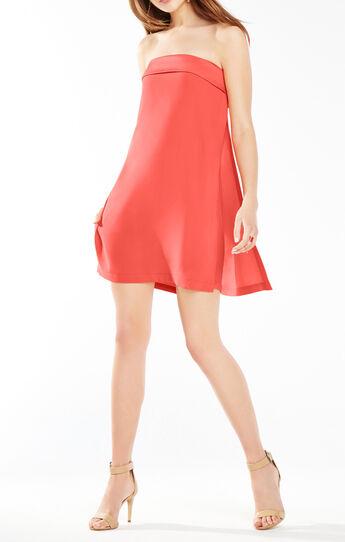 Amii Strapless A-Line Dress