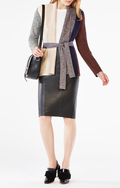 Bridgette Color-Blocked Cardigan
