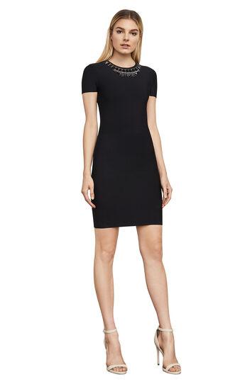 Kaylen Embellished Cutout-Back Dress