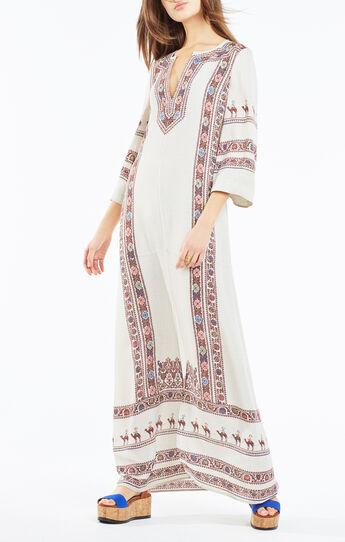 Maya Tapestry Print Maxi Dress