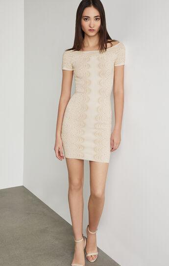 Kisha Off-The-Shoulder Knit Dress