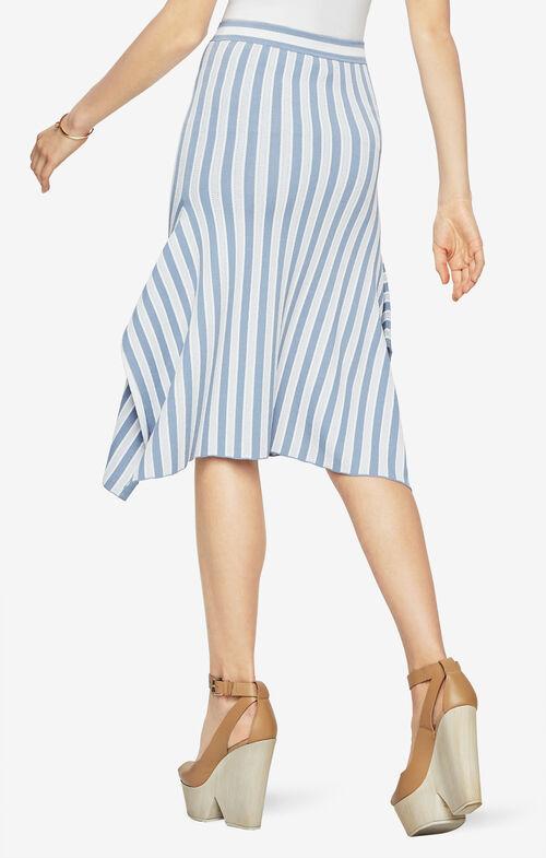 Eden Striped Skirt