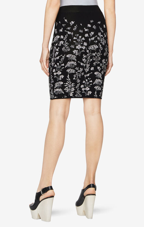 Alexa Floral Pencil Skirt