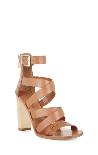 East Strappy High-Heel Day Sandal