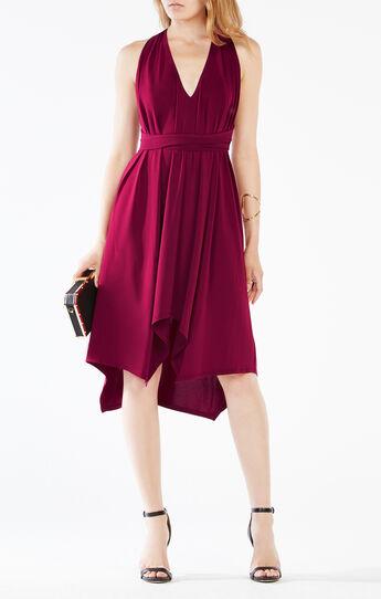 Dara Belted Jersey Dress