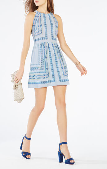 Cambria Tapestry Print Dress