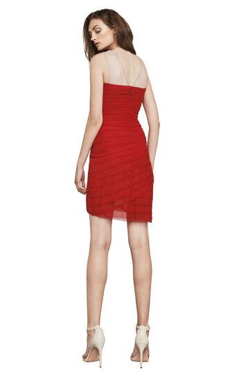 Maia Sleeveless Asymmetrical Short Dress