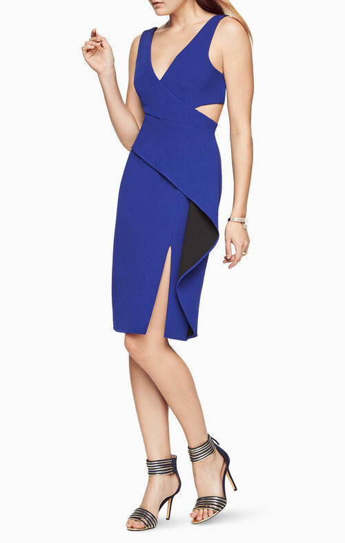 Riya Peplum Dress