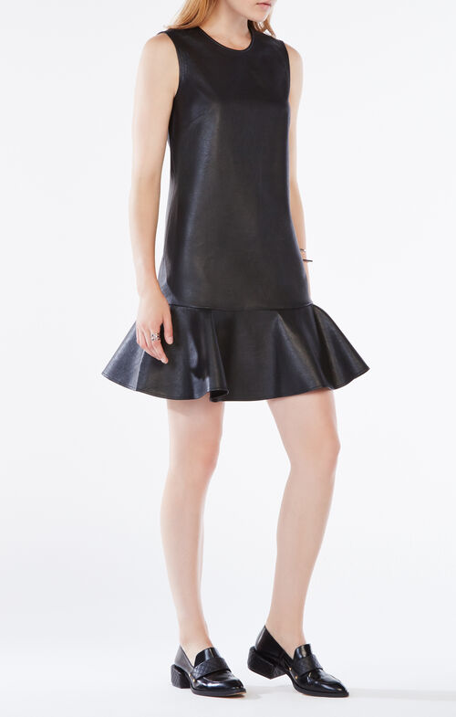 Sheridan Faux-Leather Dress