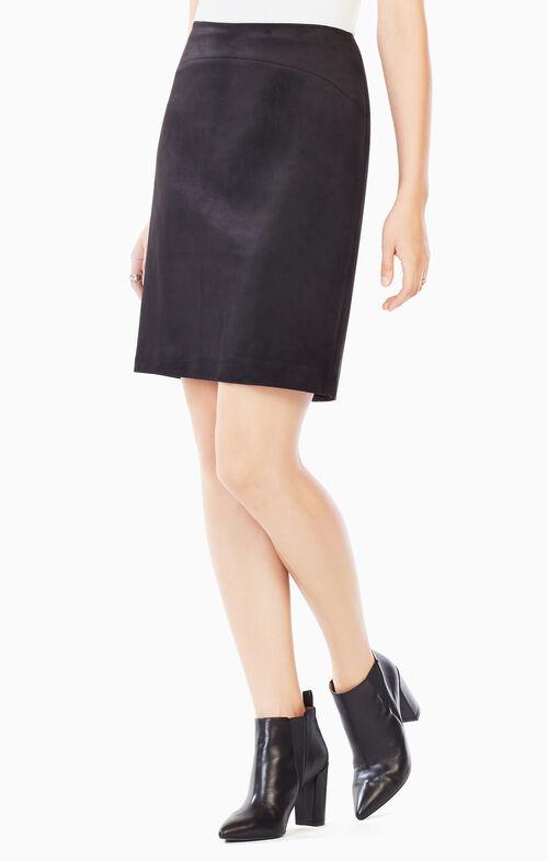 Amaris Faux-Suede Skirt