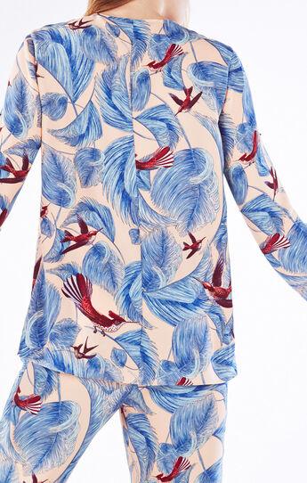Haida Hummingbird Paradise Print Top