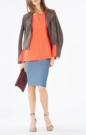 Nataleigh Bell-Sleeve Top