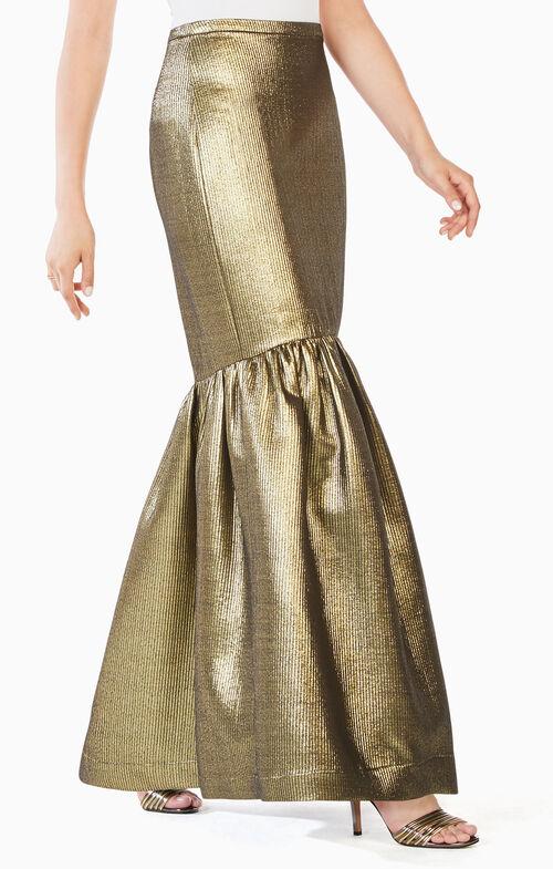 Jen Metallic Mermaid Skirt