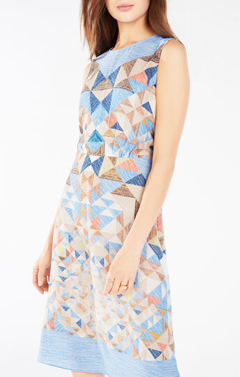 Emalea Triangle Print Dress