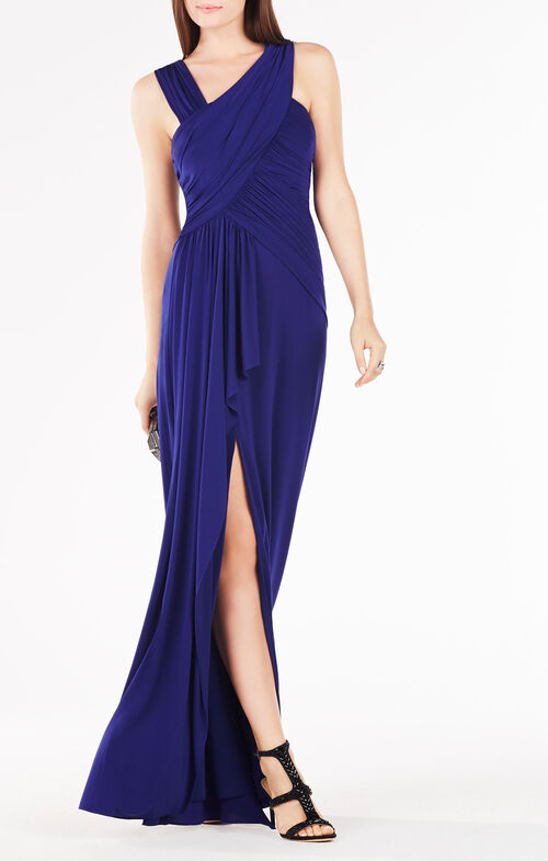 Morena Ruched Gown