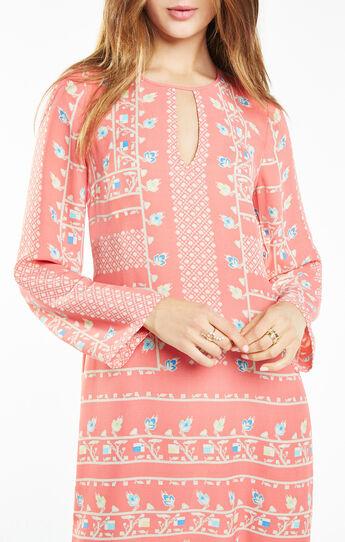 Freya Floral Print Tunic Dress