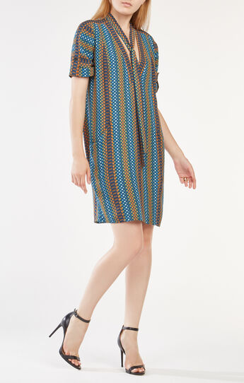 Bobbi Snake Print Dress