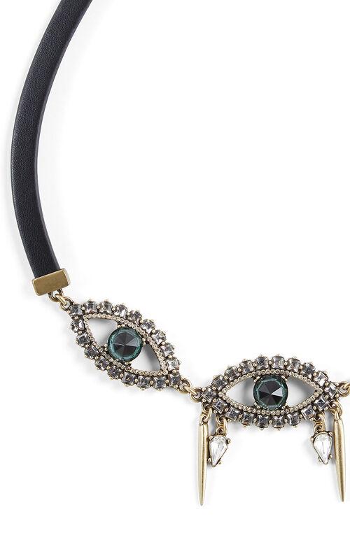 Gemstone Eye Necklace
