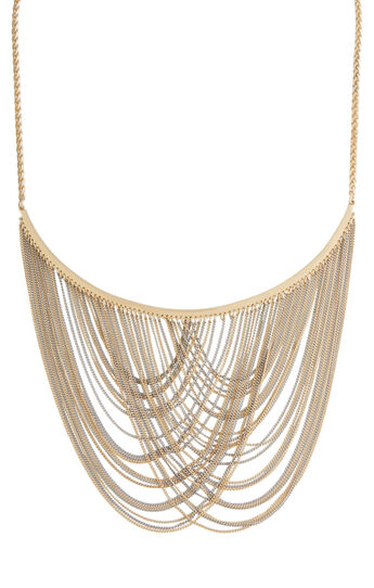 Chain Fringe Necklace