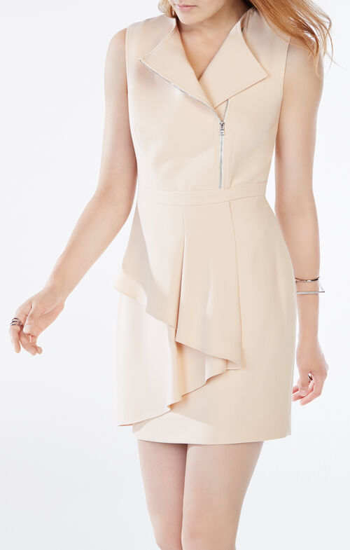 Camilla Asymmetrical Peplum Dress