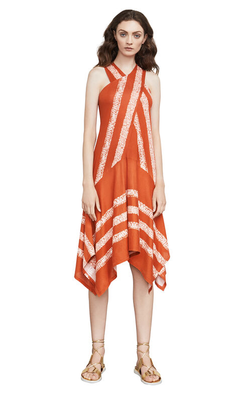 Ada Shibori-Print Dress