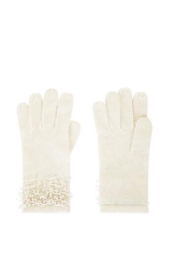 Beaded Fringe Gloves