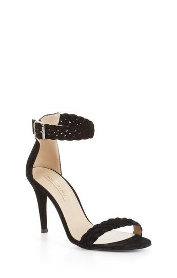 Venitia High-Heel Suede Sandal