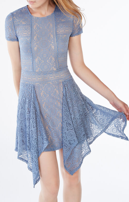 Aileen Floral Lace Dress