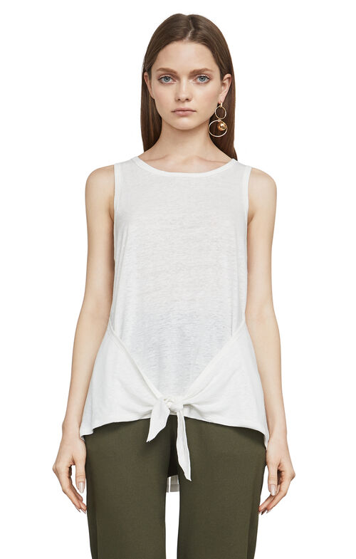 Katlin Knotted Tank Top