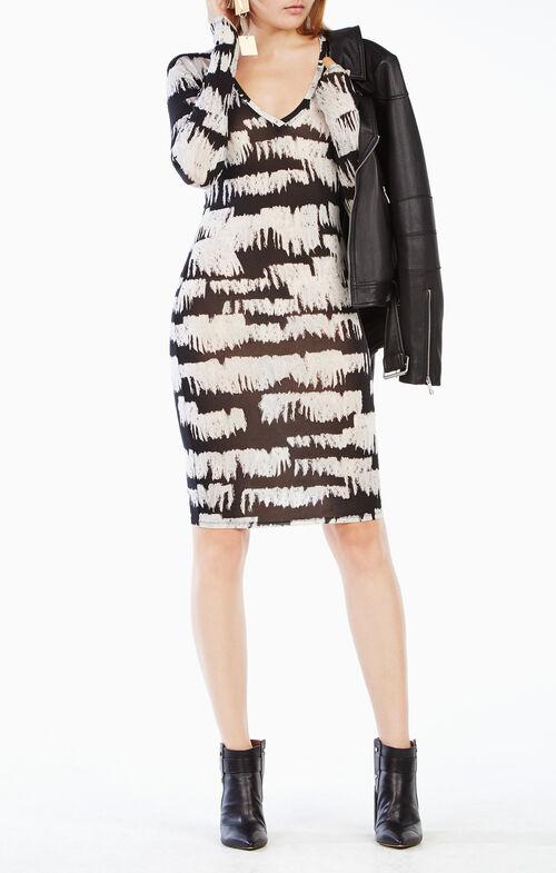 Tori Long-Sleeve Dress