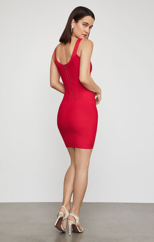 Caspar Sleeveless Body-Con Dress