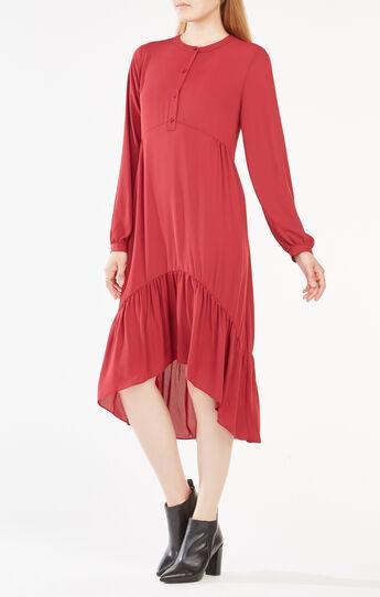 Natalii Midi Peasant Dress
