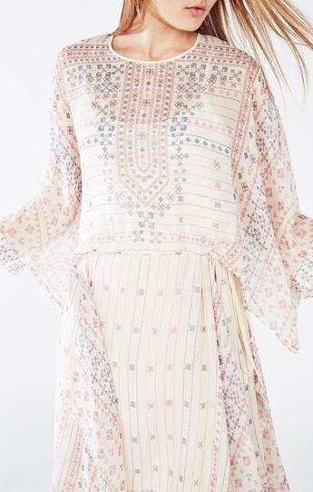 Jaelyn Scarf Print Dress