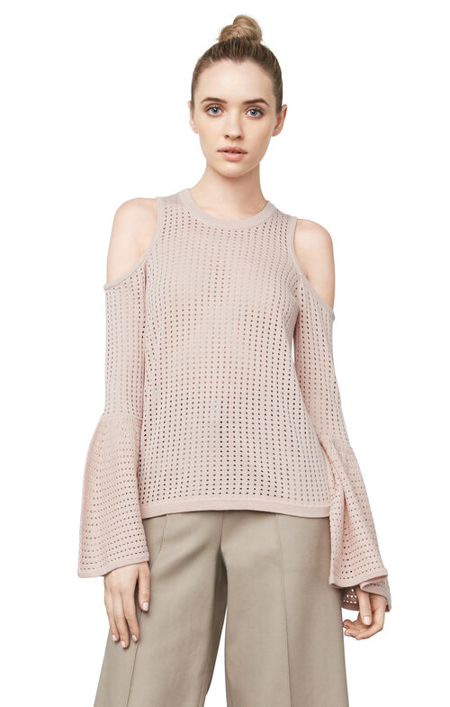 Lucia Cold-Shoulder Top