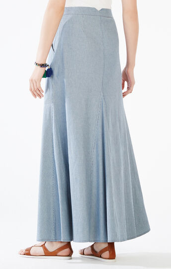 Miya Striped Maxi Skirt