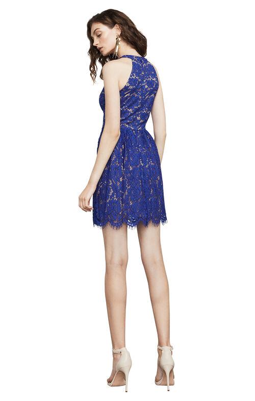 Megyn Lace Halter Dress