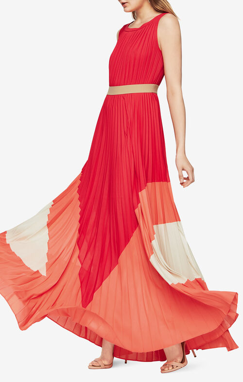 Charlotte Color-Blocked Gown