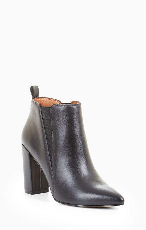 Vaerra Leather Bootie