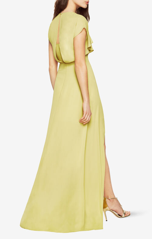 Evette Front Drape Dress