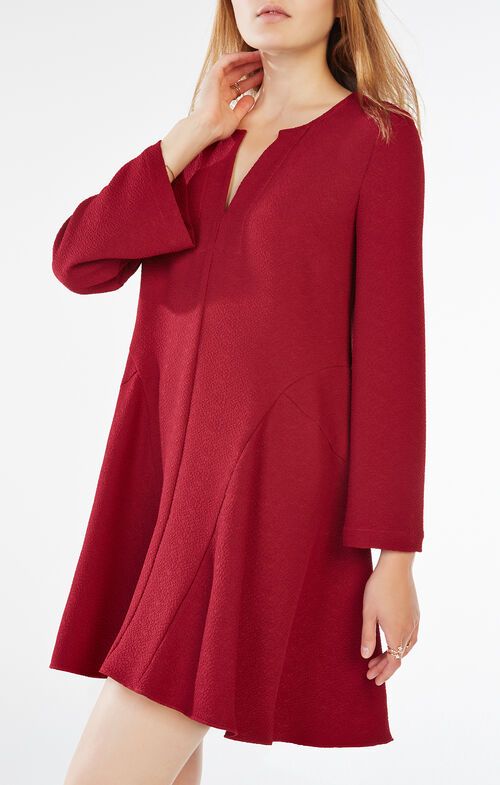 Geena Pebbled Shirt Dress