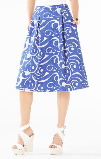 Jezebel Embroidered A-Line Skirt