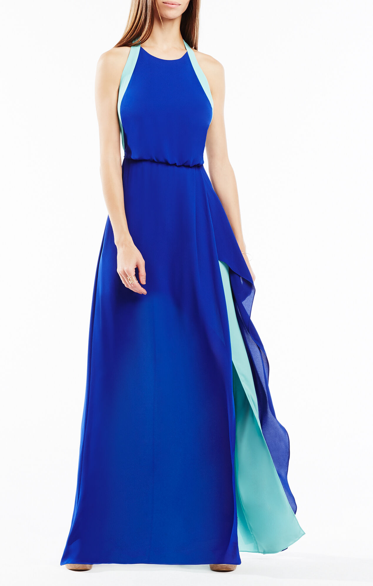 Bcbg colorblock perfection dress
