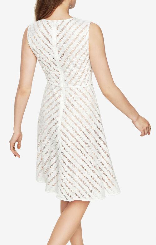 Cate Striped Lace Dress