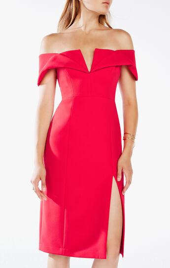 Marquis Off-The-Shoulder Dress
