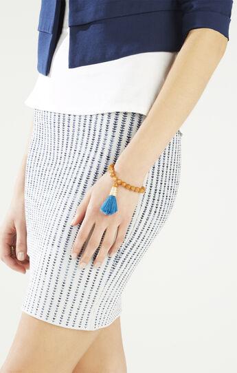 Stone Tassel Bracelet