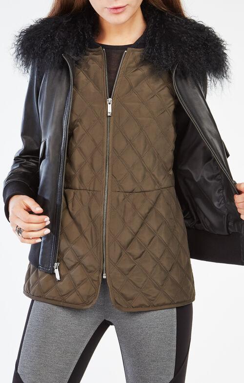 Pandora Fur-Collar Jacket